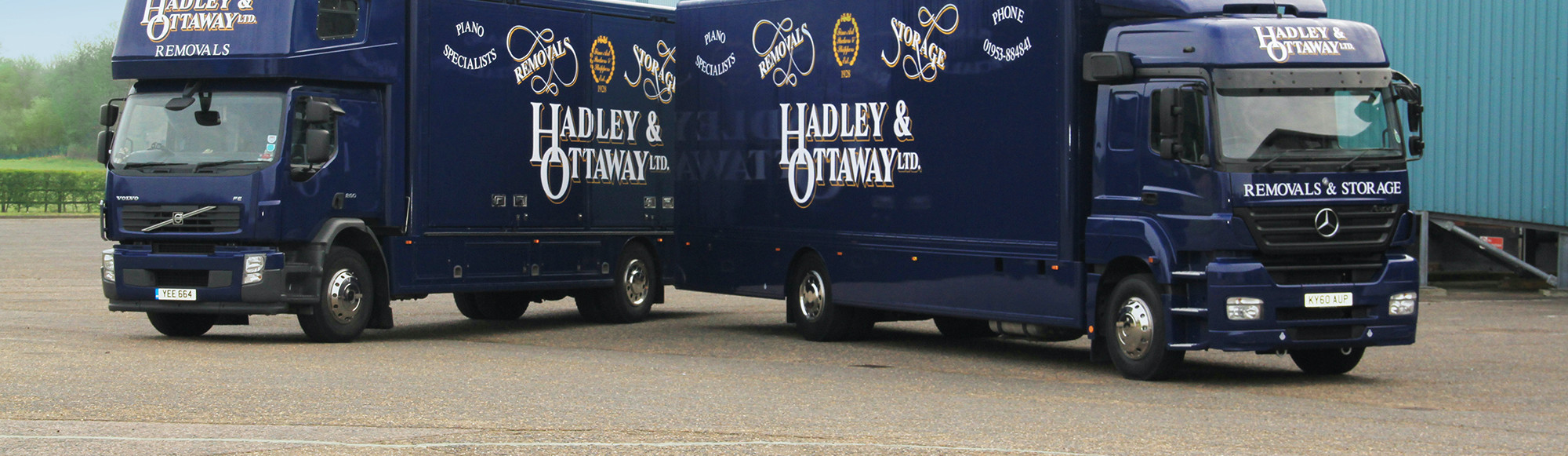 Hadley & Ottaway corporate and business removals